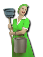 photo of a housekeeper