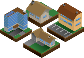 examples of apartments and houses